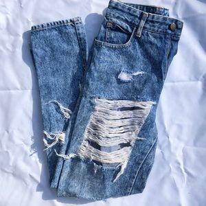 Denim - High Waisted Jean